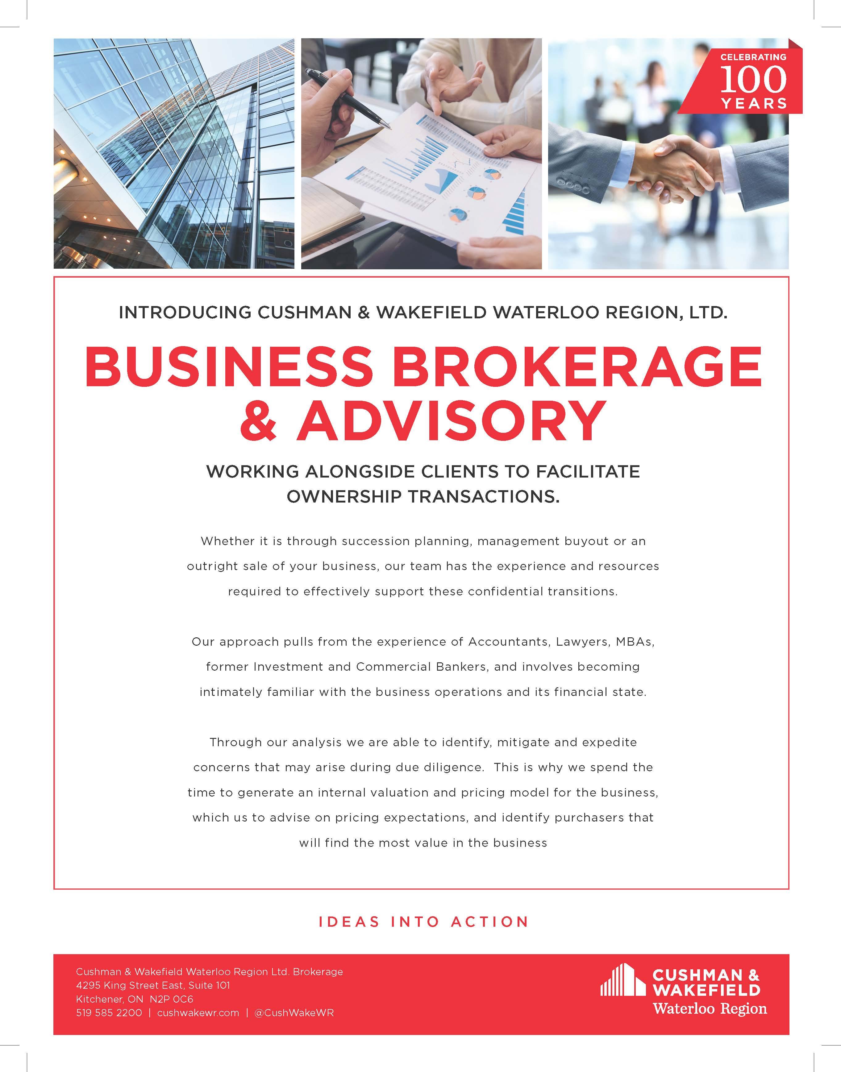 Cushman & Wakefield Business Brokerage & Advisory Services