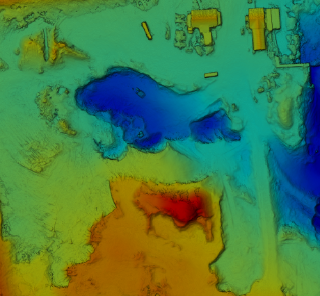 Drone Elevation Map for Land Development ans site grading