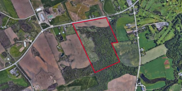 1500 Kossuth Rd. - Google Aerial View with Outline