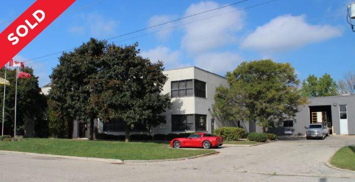 37,870 SF Industrial Building   Waterloo, ON