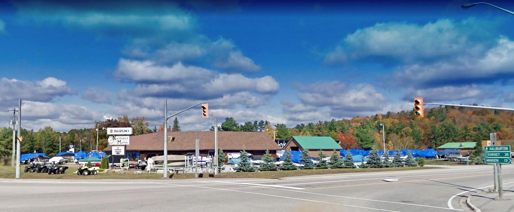 9179 Highway 118, Minden | Northland Marine & Storage for Sale