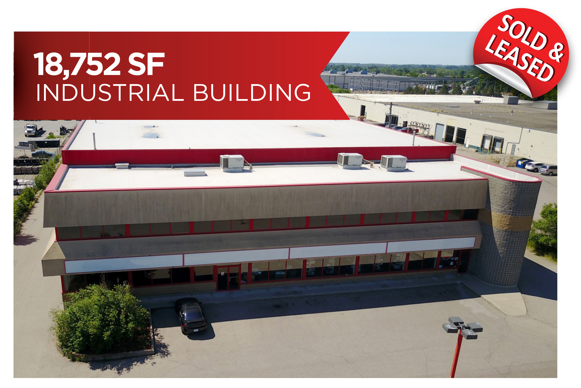 Freestanding Industrial Building, Investment Sale | Cambridge, ON