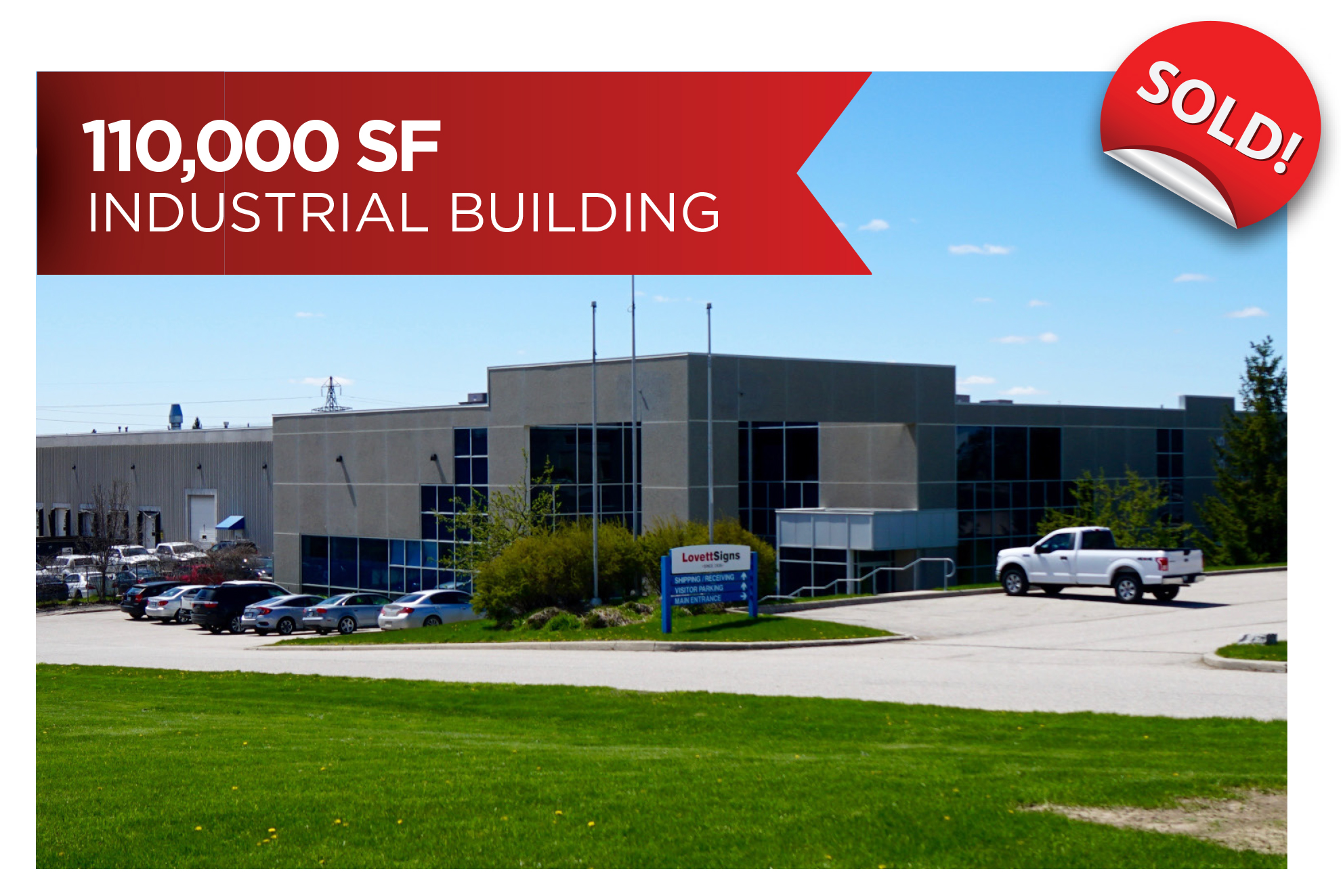 Freestanding Industrial Building, Investment Sale | Guelph, ON