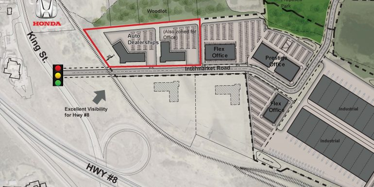 IP Park Dealership Site Plan