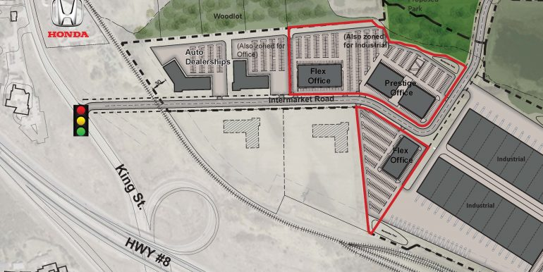IP Park Office Site plan