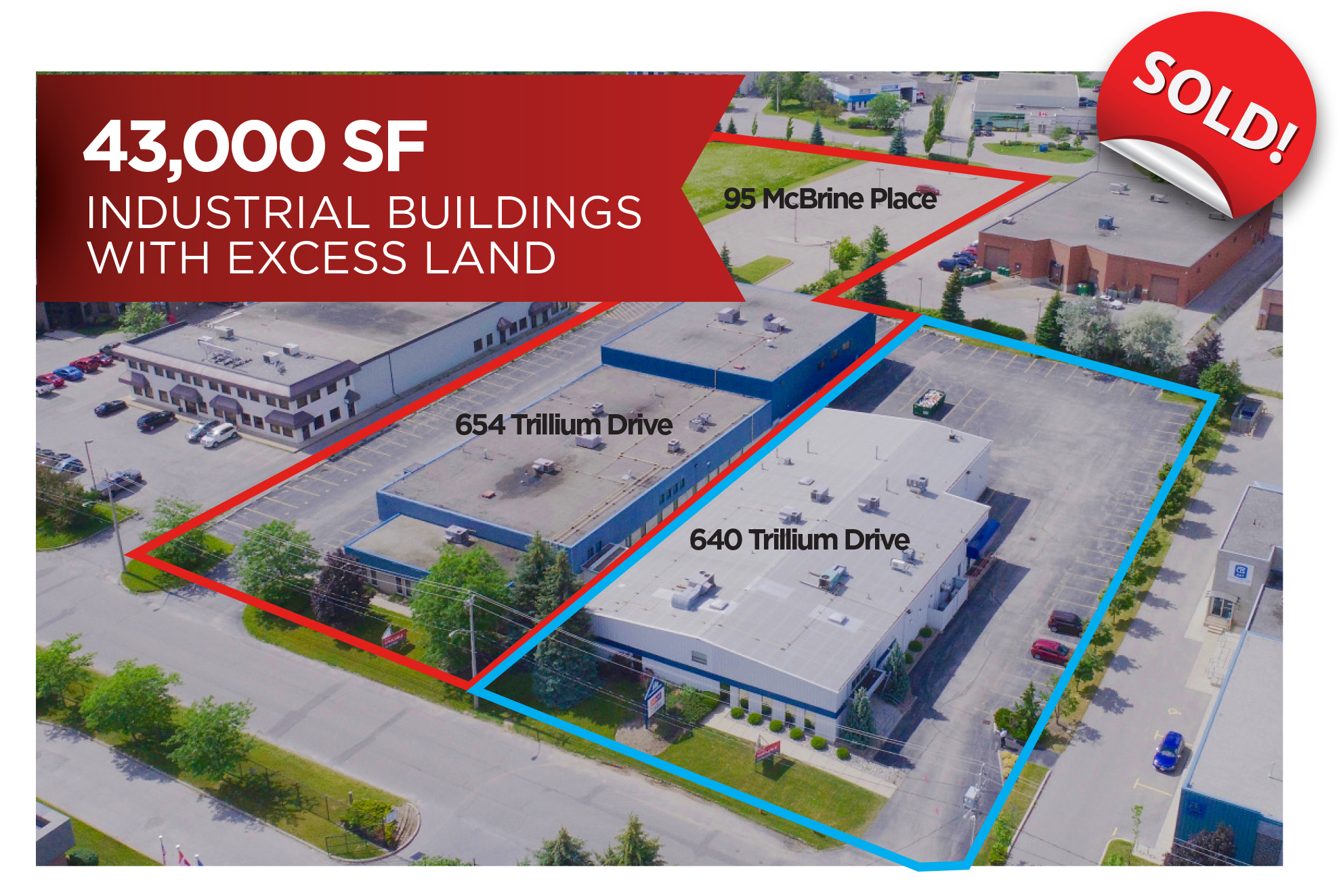 Industrial Buildings & 2 acres of excess Land | Kitchener, ON