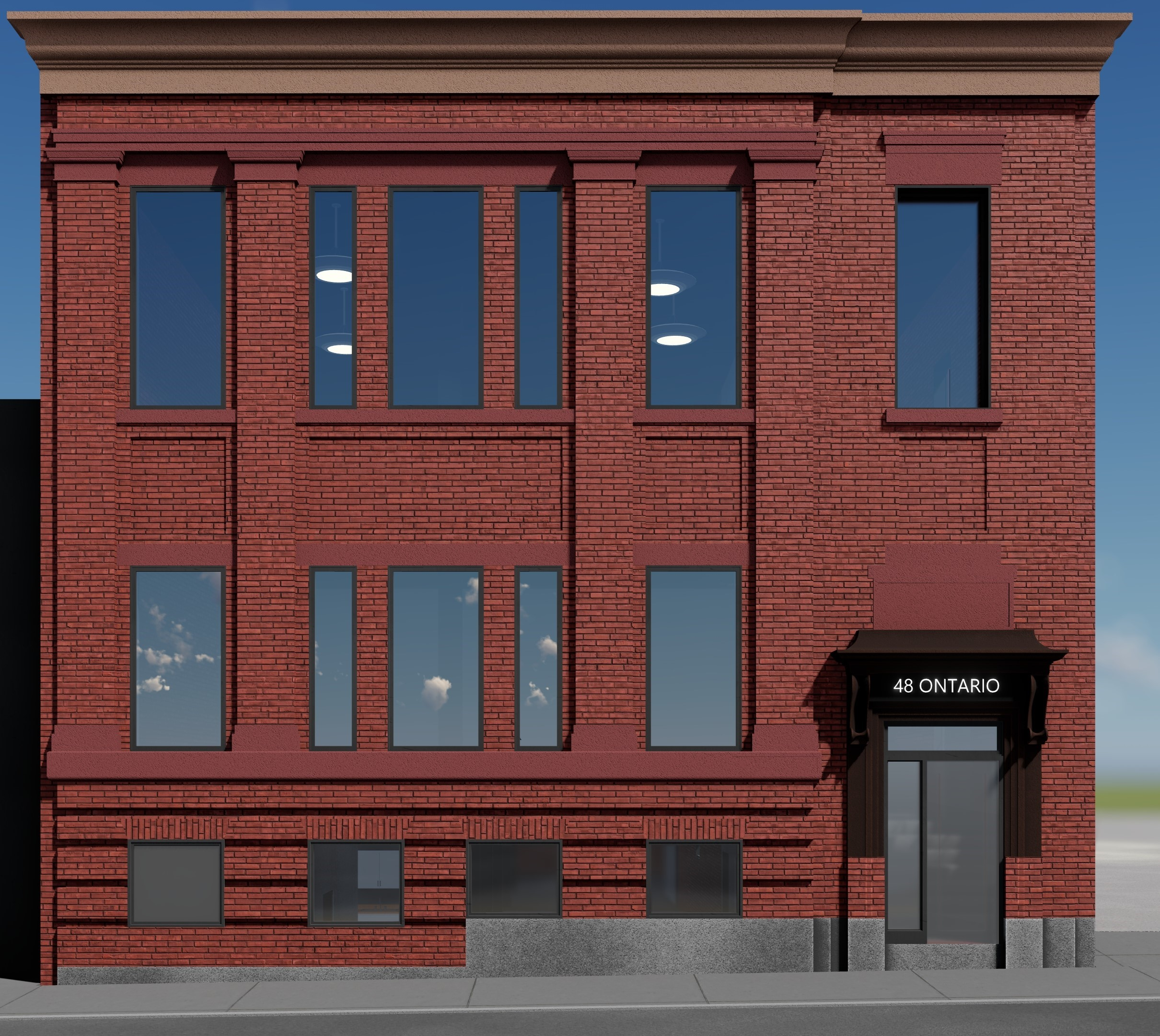 48 Ontario Street N, Kitchener | Renovated Class A Office Space for Lease