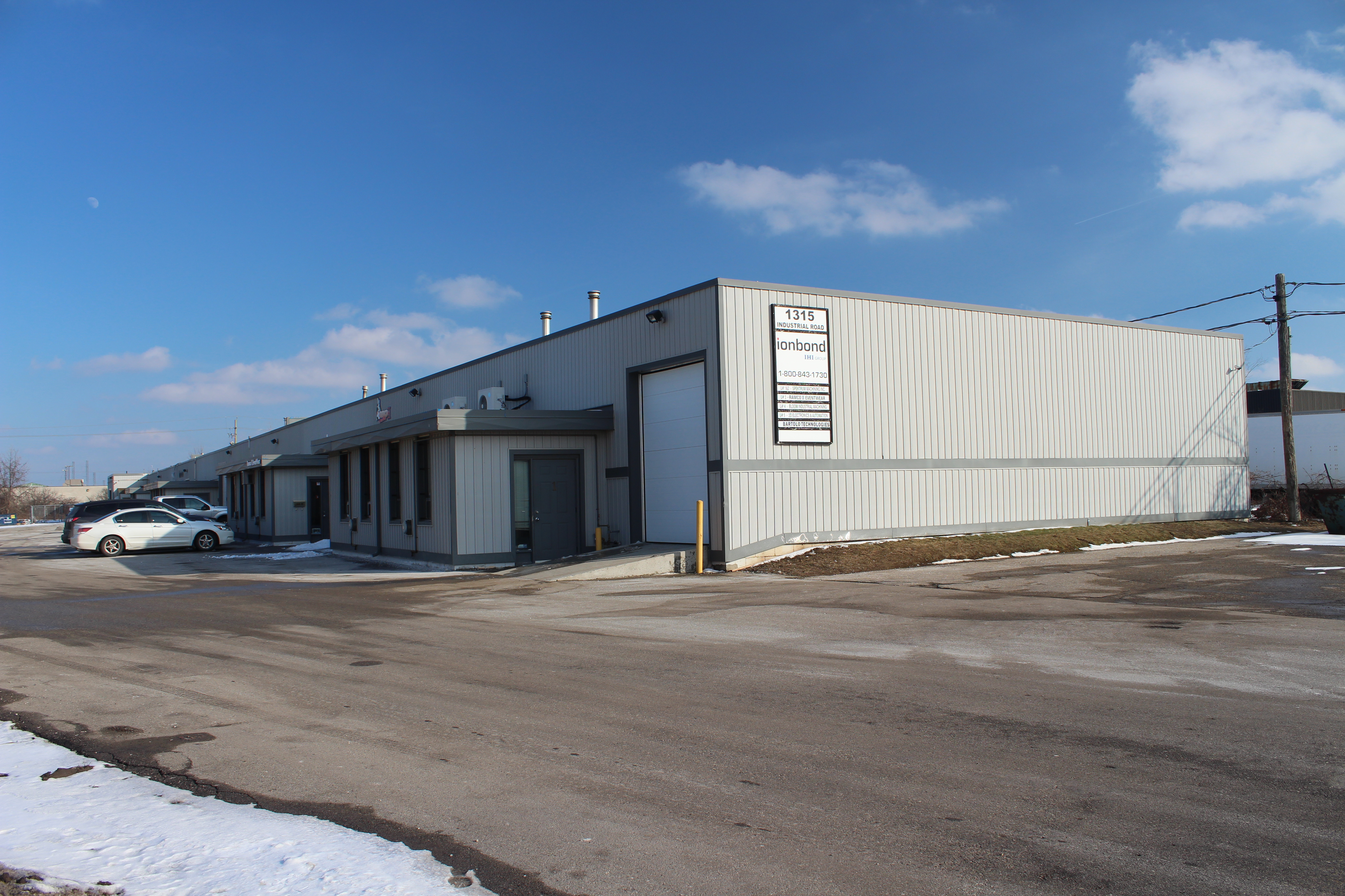 1315 Industrial Road, Unit 6, Cambridge | Industrial Space for Lease