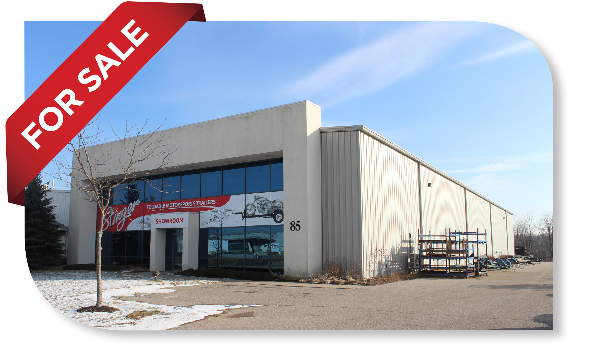 14,700 SF Freestanding Industrial Building