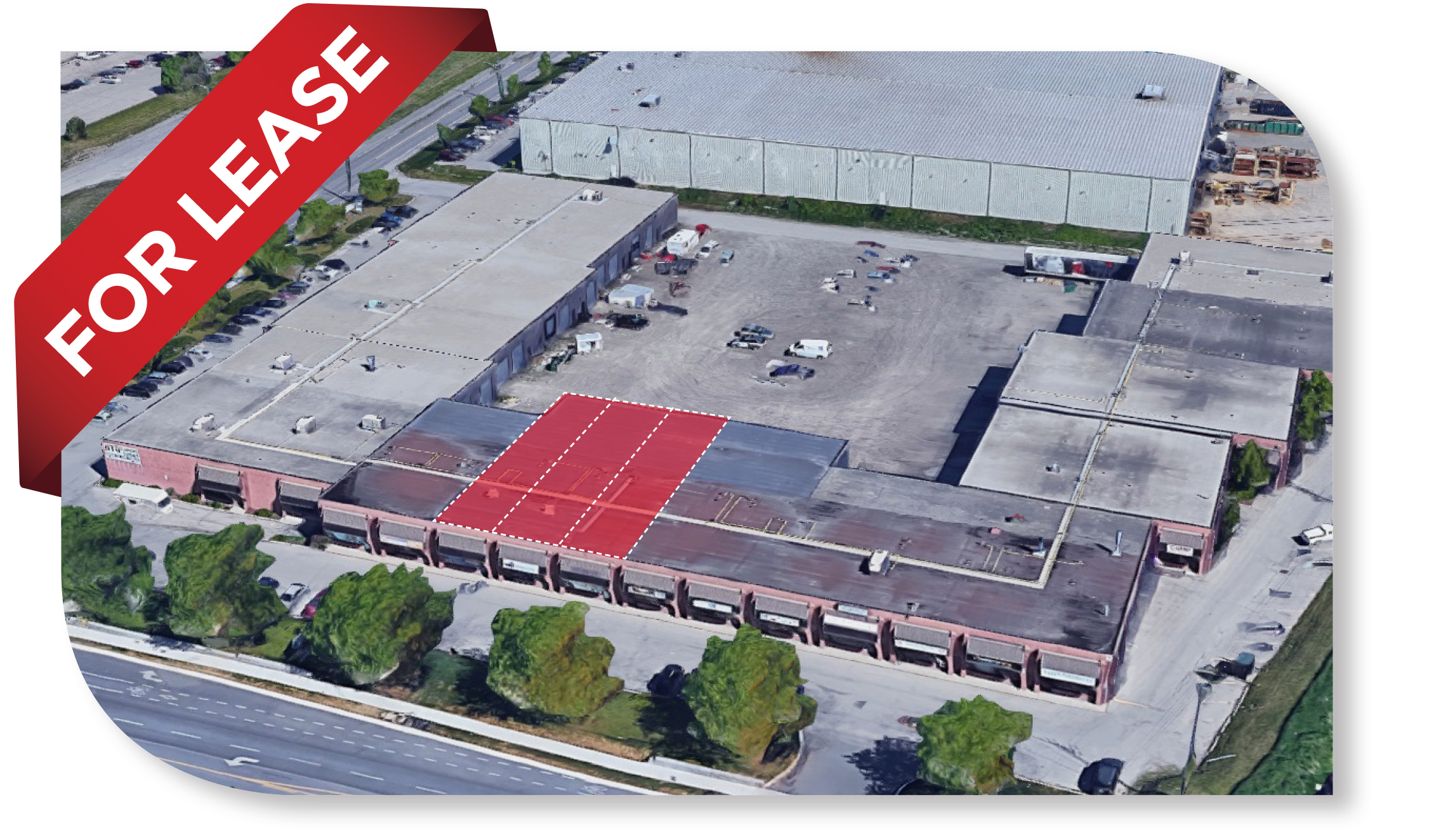 6,600 SF Divisible Industrial space