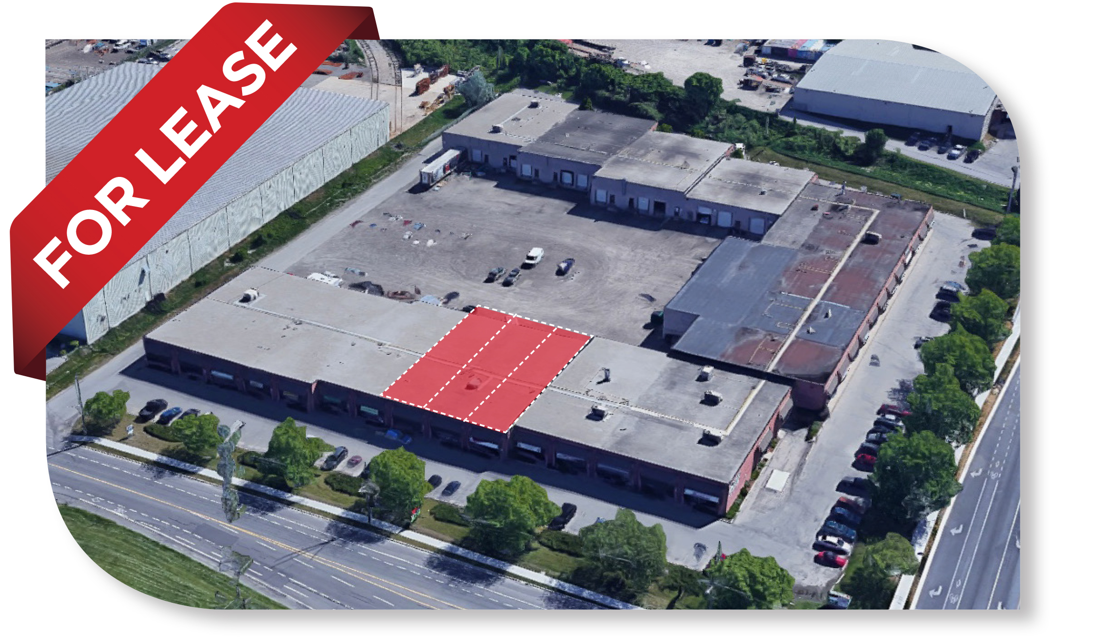 6,600 Total SF Divisible Industrial space