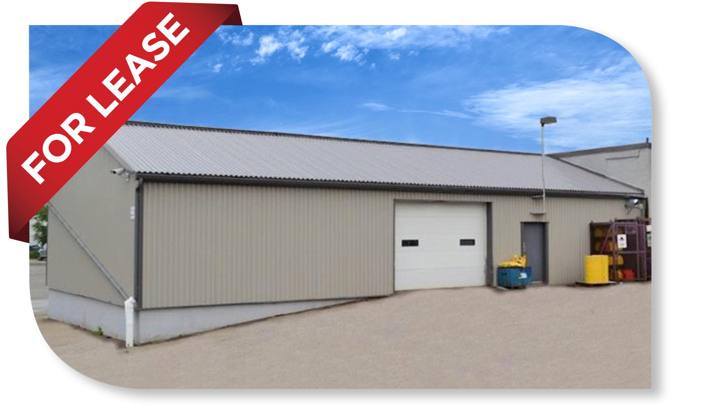 2,250 SF Industrial unit