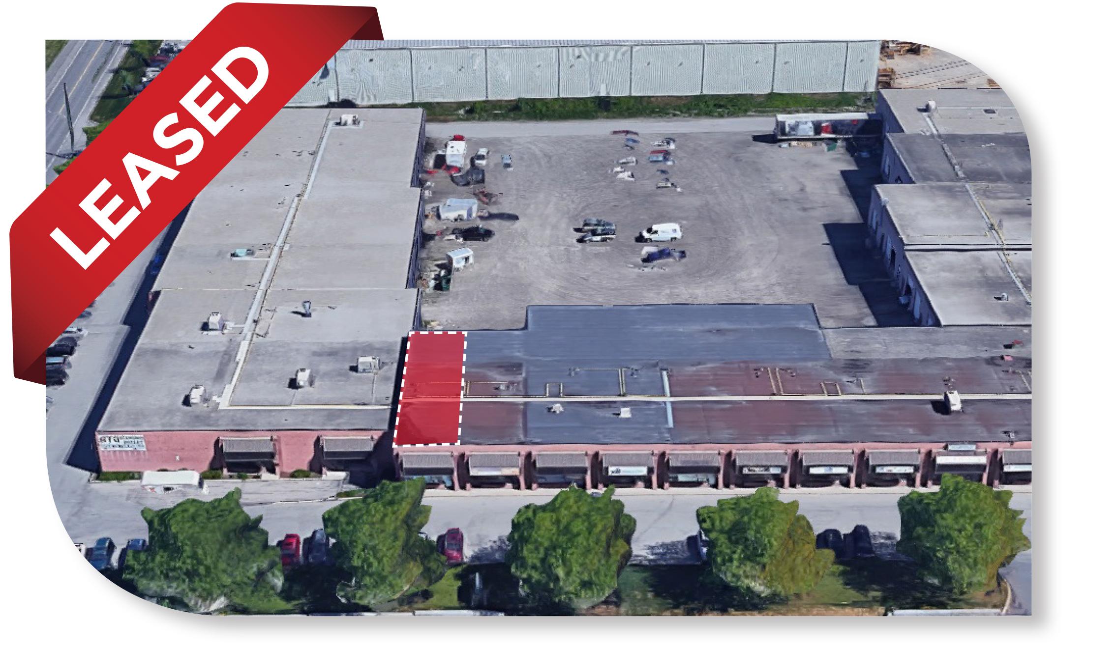 1,780 SF Industrial unit