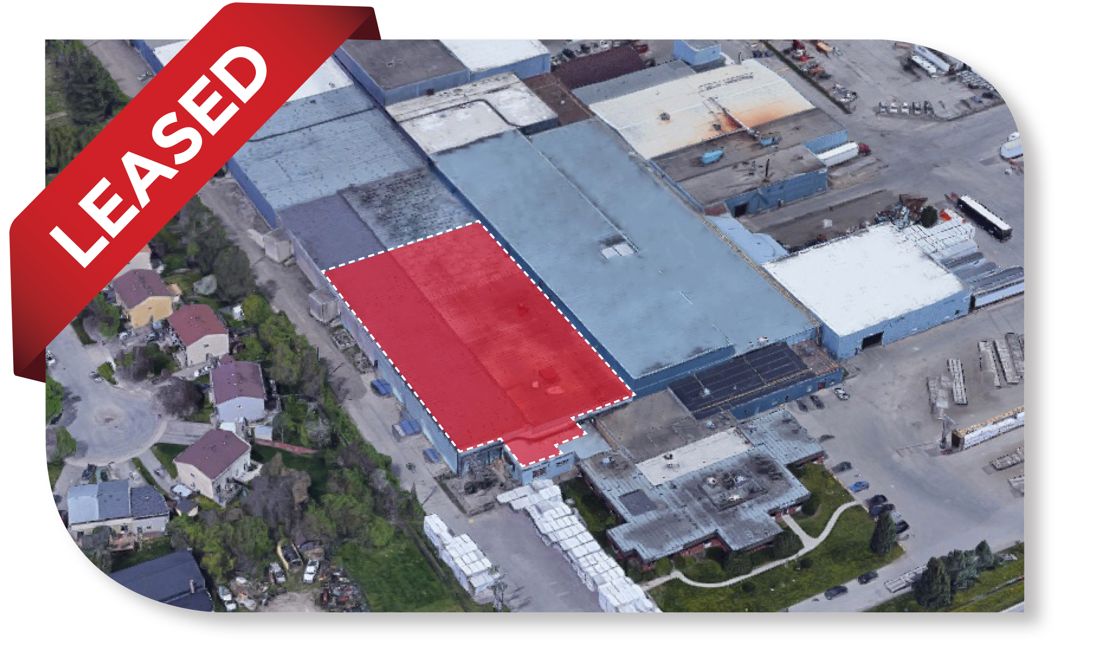 34,967 SF Industrial Warehouse space