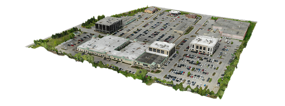 3D Model Commercial Campus
