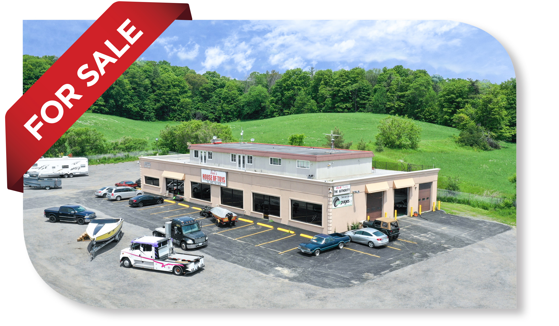 12,500 SF Retail Building