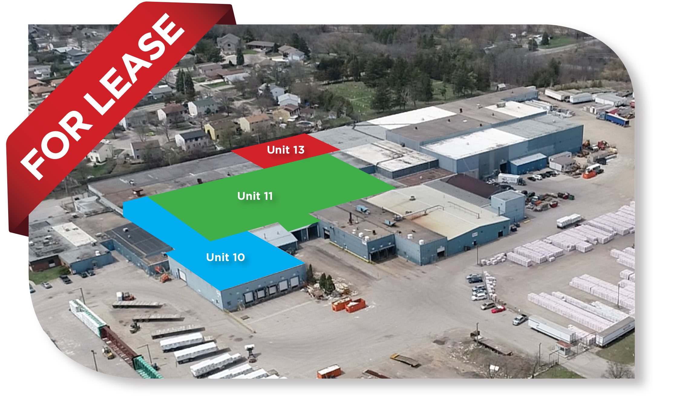 3 Units, 81,233 SF Total Industrial space