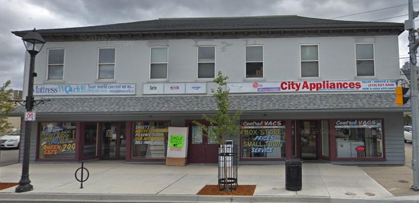 1-5 Wellington Street (Unit # 2 & Upper), Cambridge | Retail Unit & Office Space Available