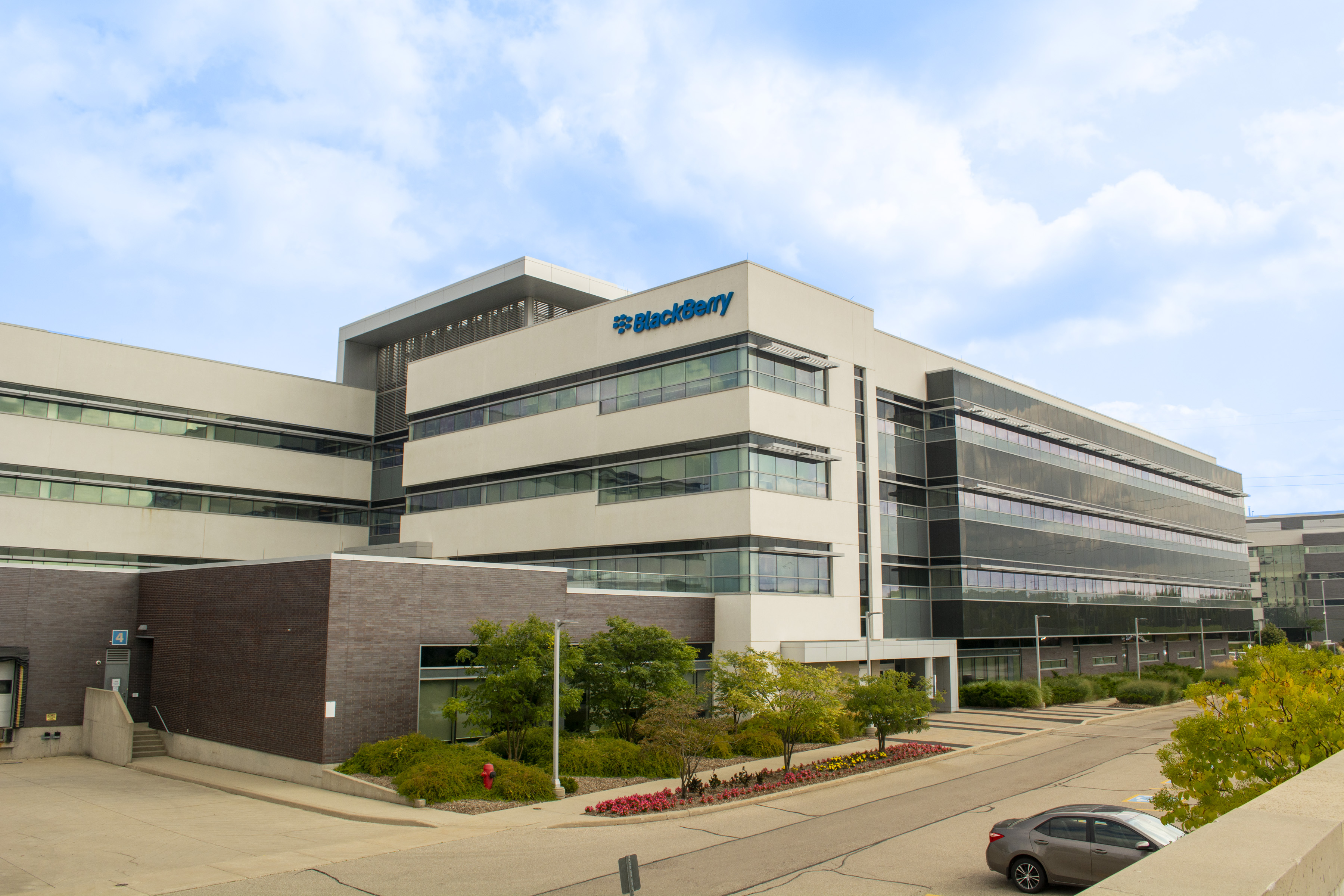Blackberry, 2300 University Ave, (2nd & 4th Floor), Waterloo   Office Space for Sublease