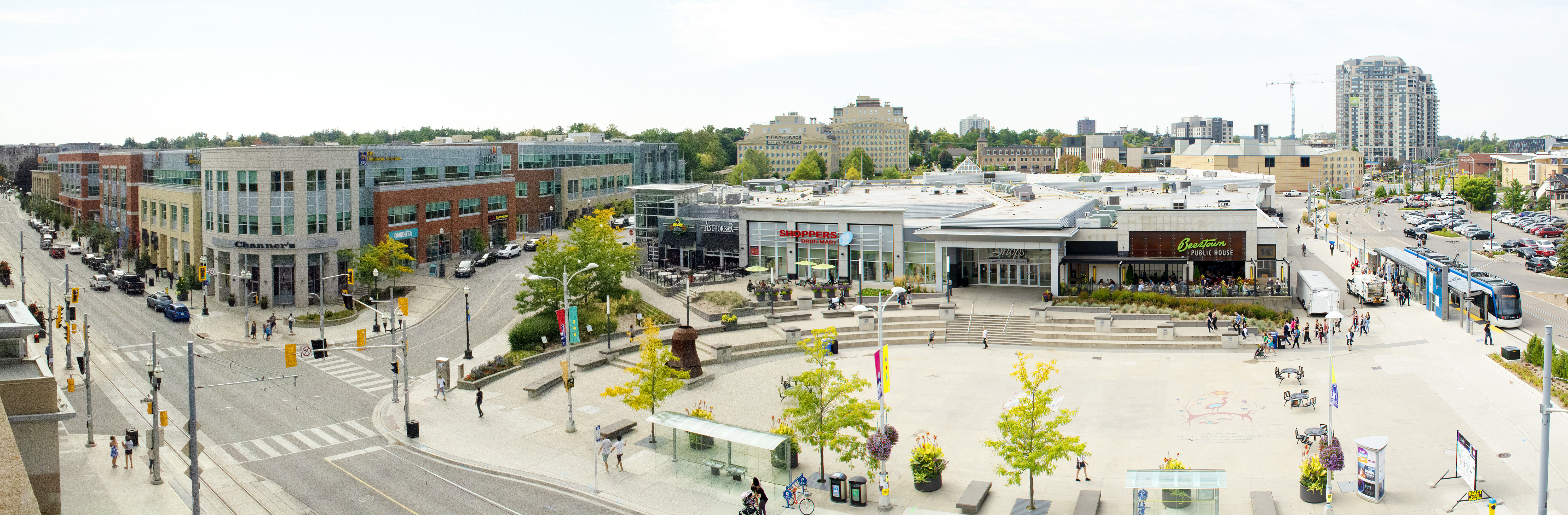 Waterloo Town Square | Retail Spaces For Lease