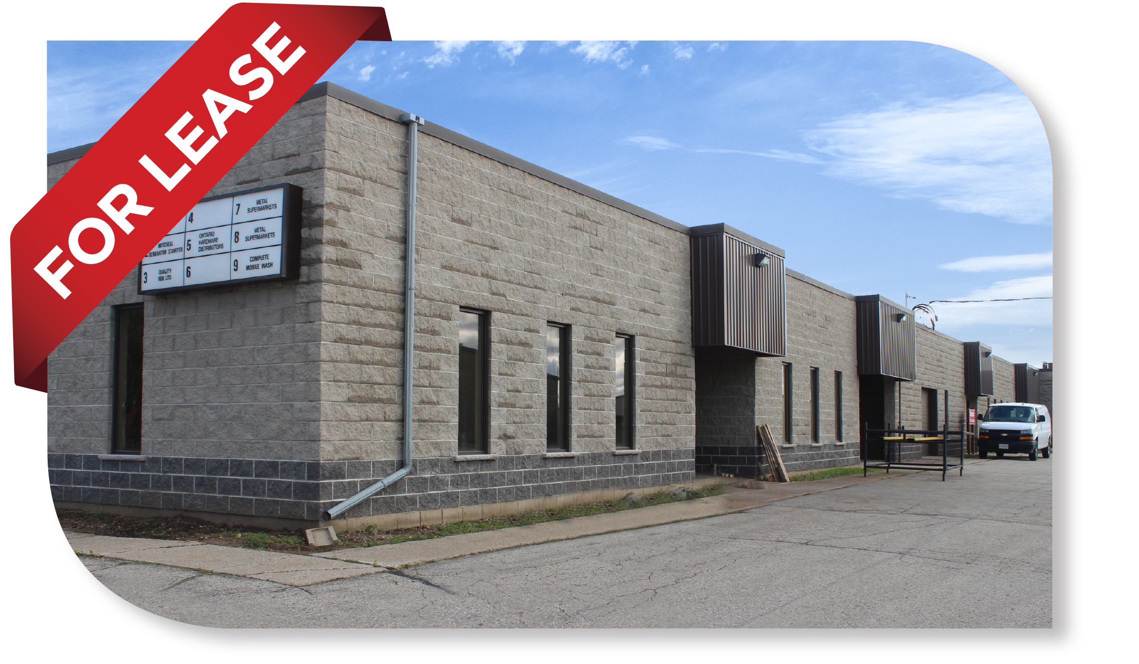 7,040 SF Industrial/warehouse Space