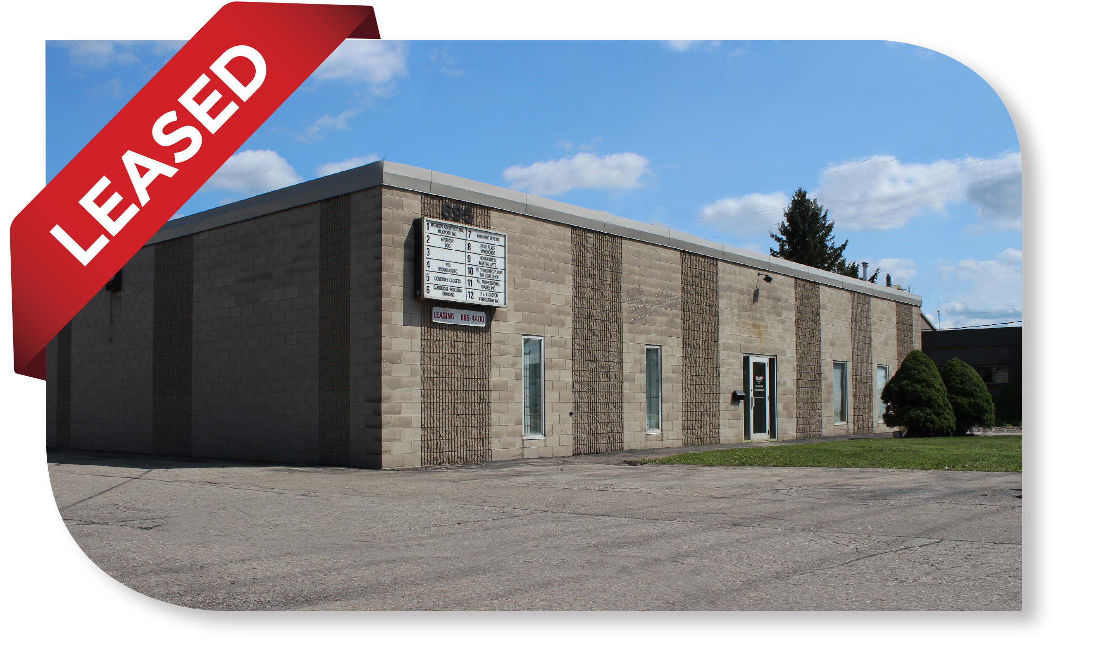 2,560 SF Industrial Unit