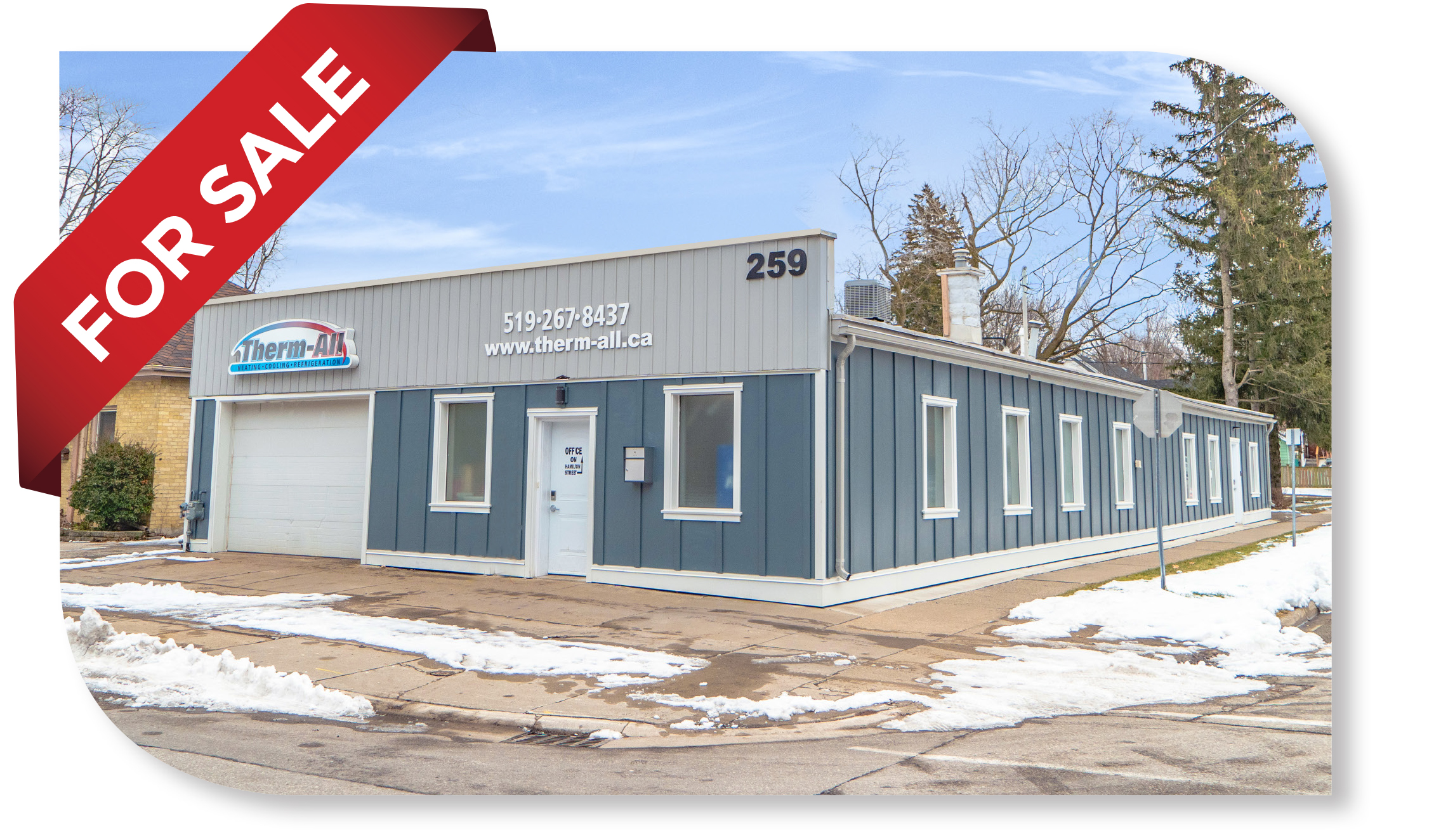 ±3,476 SF Service Commercial Building