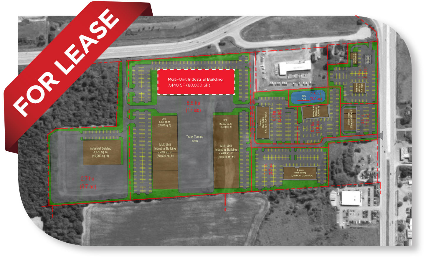 10,000 - 80,000 SF Class 'A' Spec Industrial Building