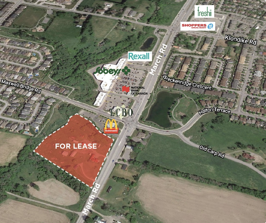 910 March Road, Kanata | Retail Development Available