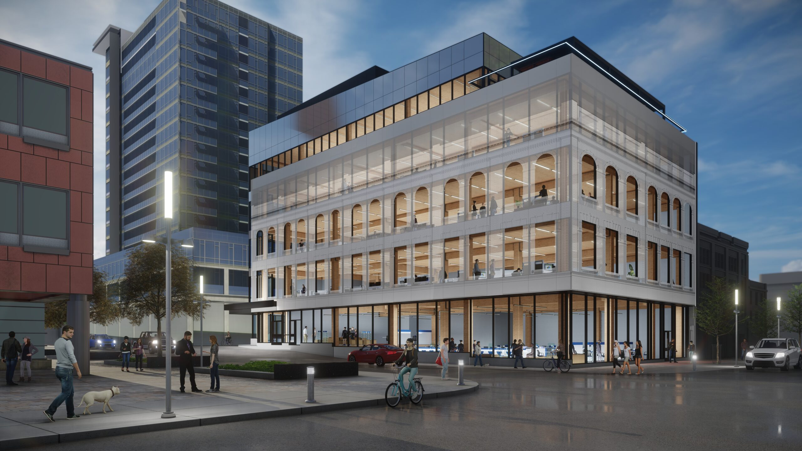 One Young Street, Kitchener | Class A Mass Timber Office Space For Lease