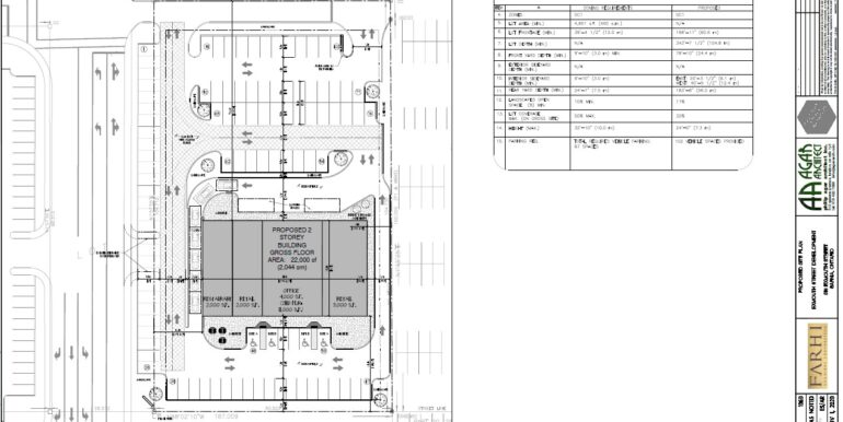 510-540 Exmouth Site Plan