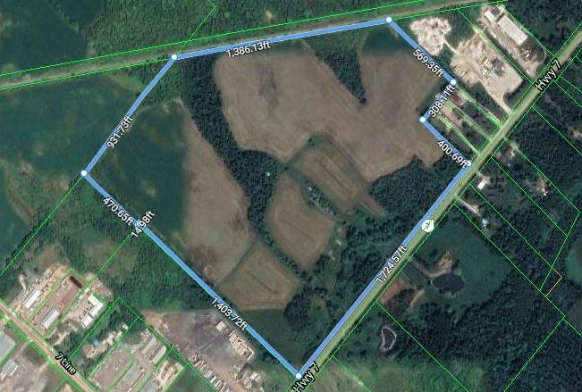 8640 Hwy 7, Eramosa |  Prime Industrial Development Land for Sale