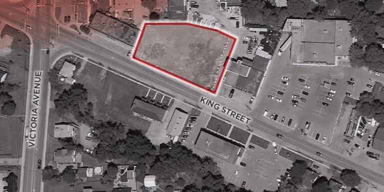 3373-3381 King Street Aerial View