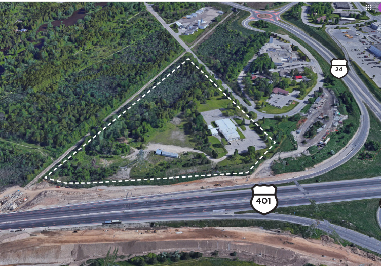 605 Beaverdale Road, Cambridge | Industrial Building and Development Land for Sale