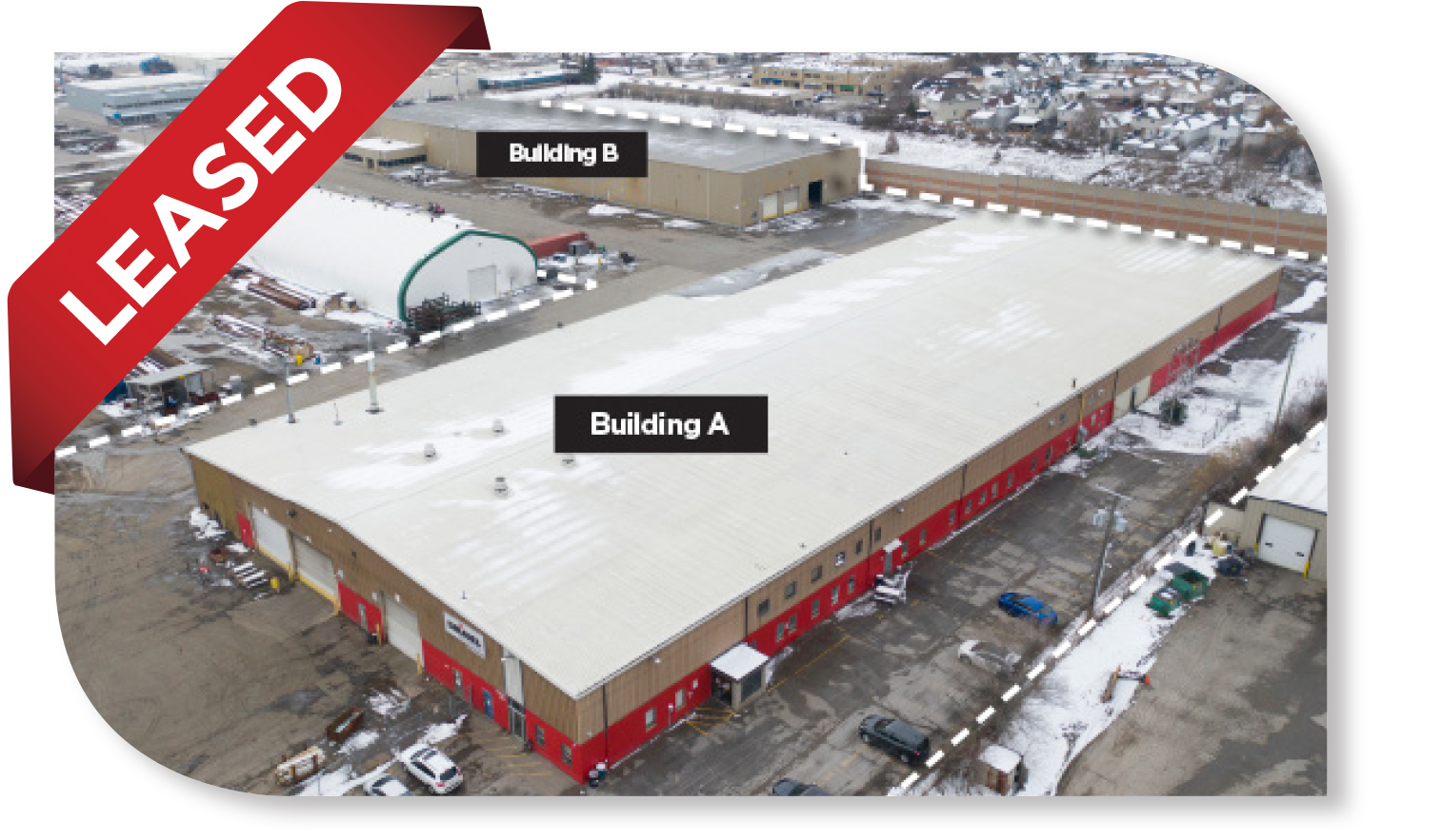 129,730 SF Buildings on ± 9 acres