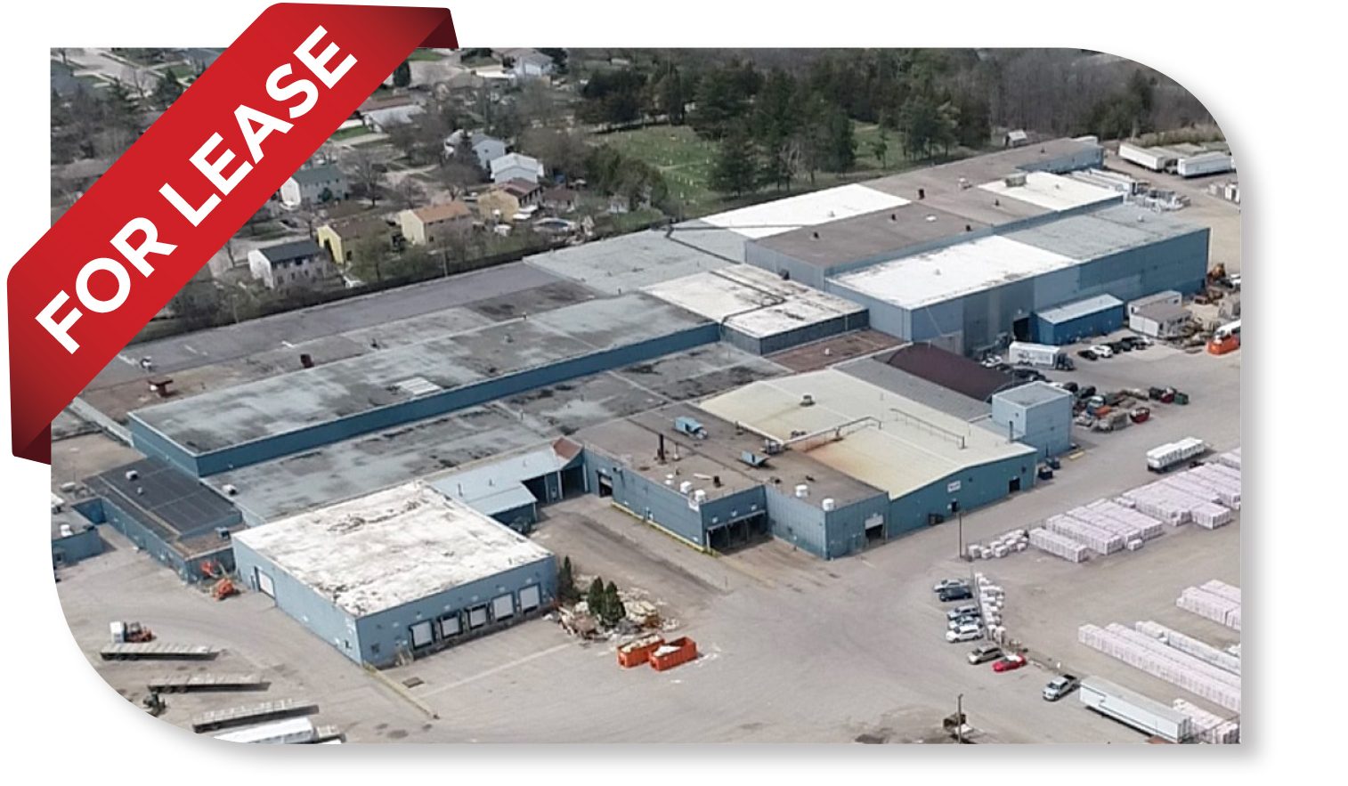 29,587 SF craned Industrial Space