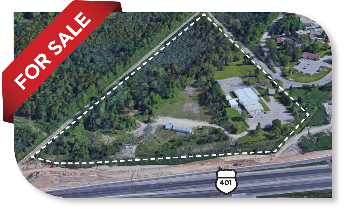 15,617 SF Building on 18.14 acres