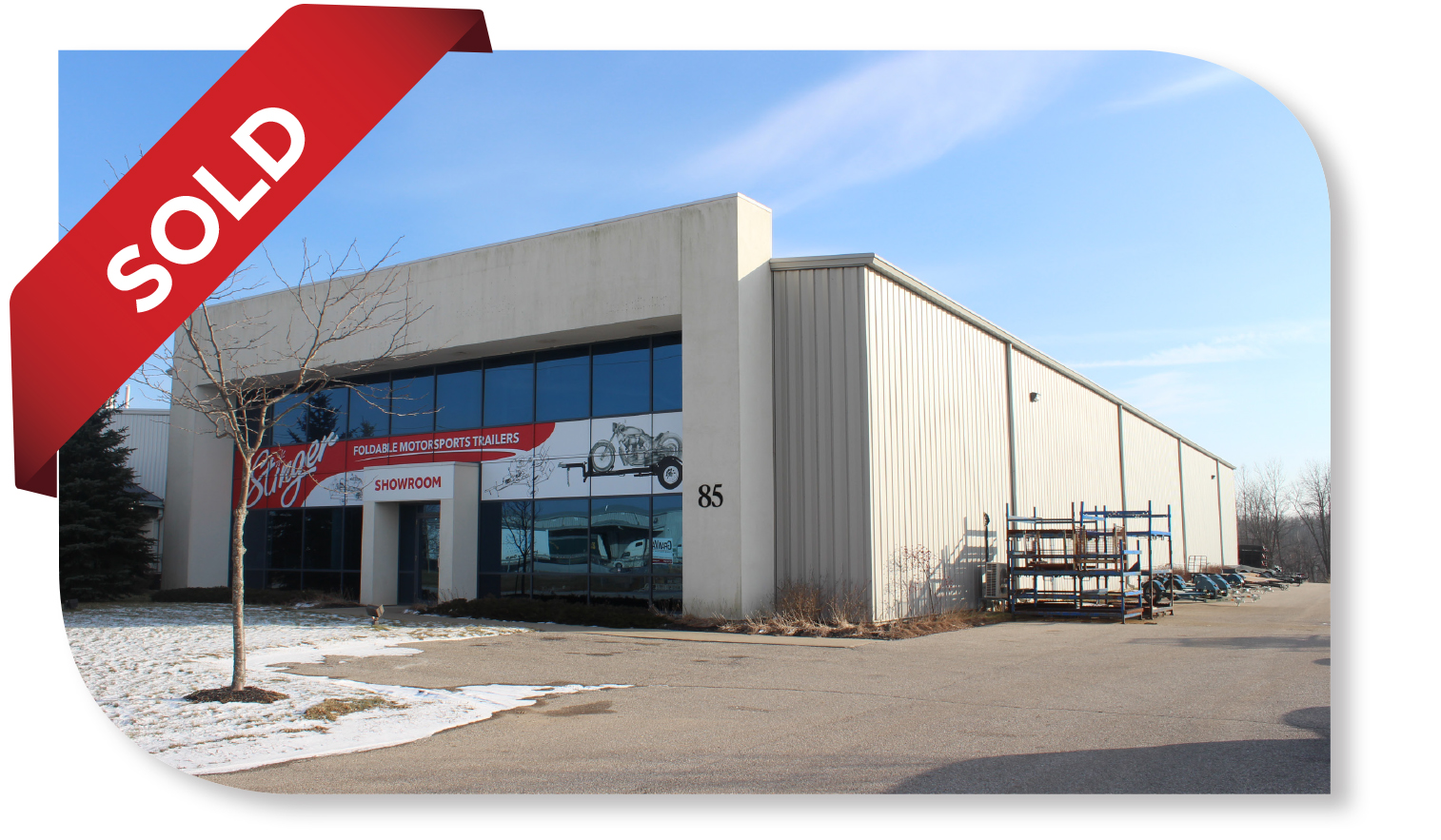 14,099 SF Industrial Building