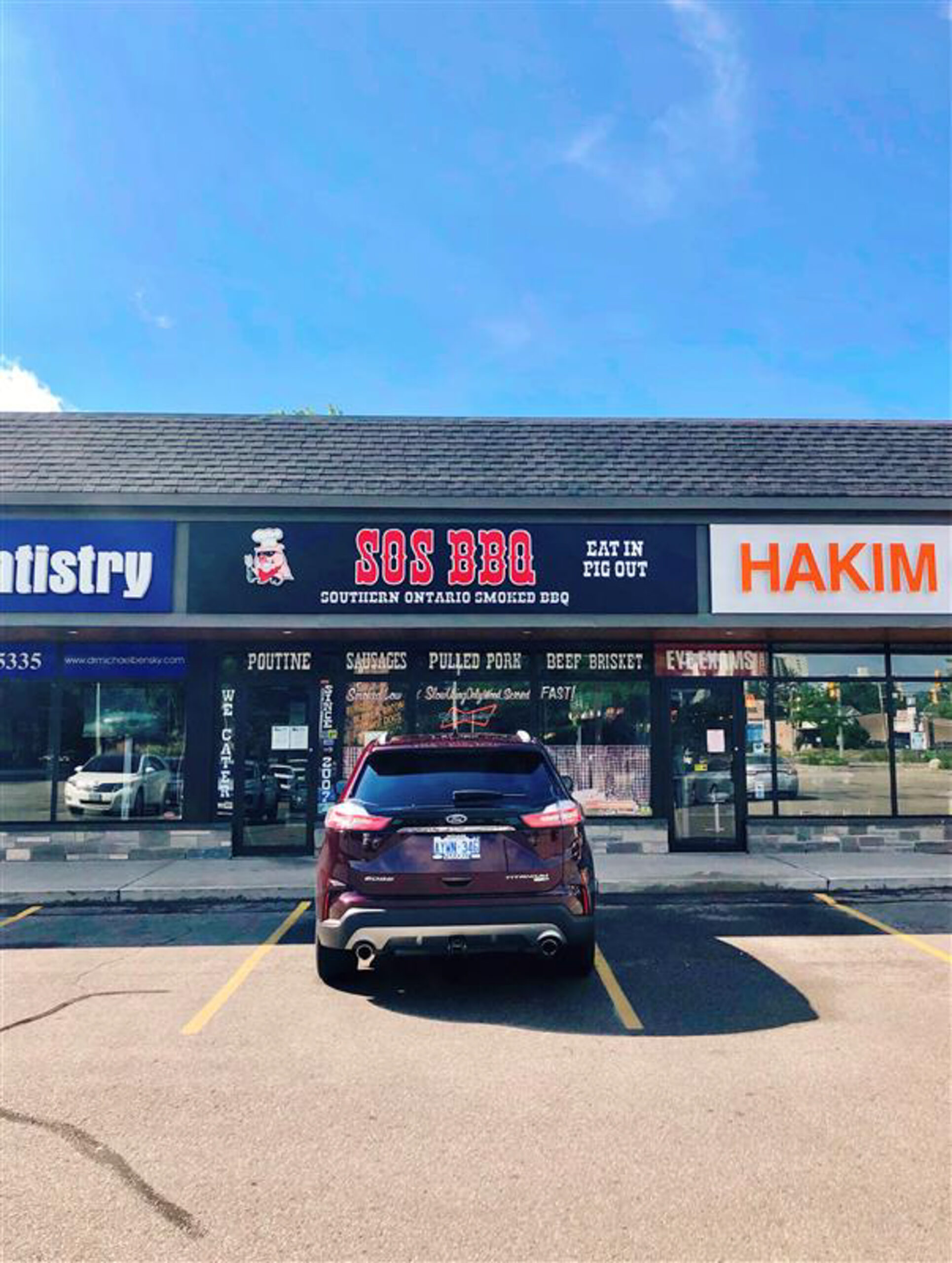 525 Highland Rd W (Unit 8), Kitchener | SOS BBQ Business for Sale